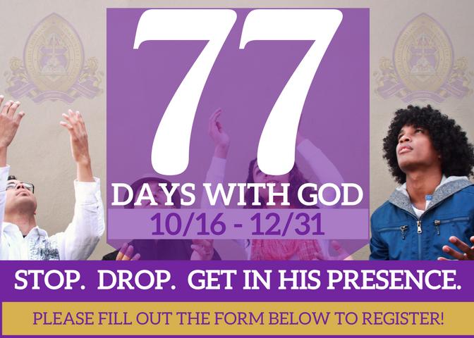 77 Days for Website
