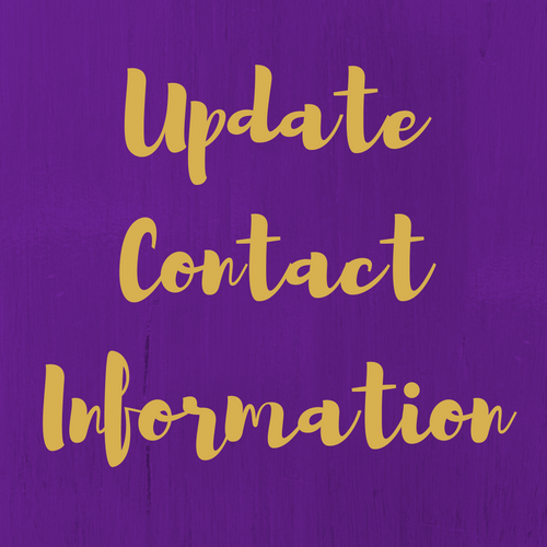 Contact Info Update 1