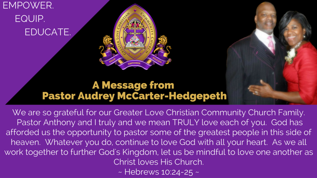 October Message from Pastor 1
